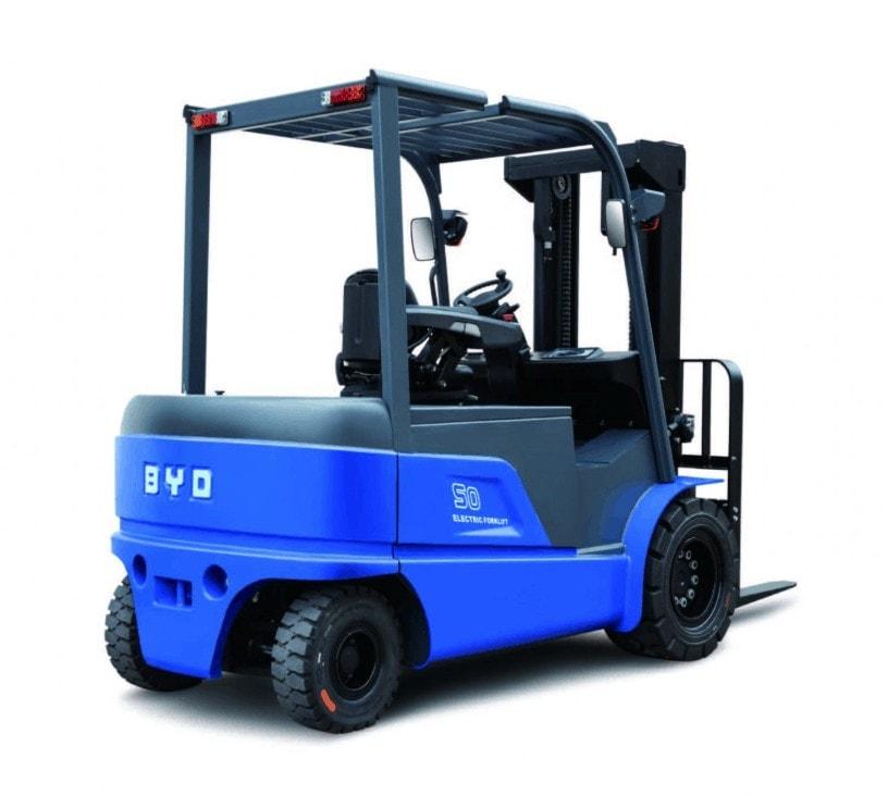 Carretillas eléctricas de BYD Forklift con baterías de litio