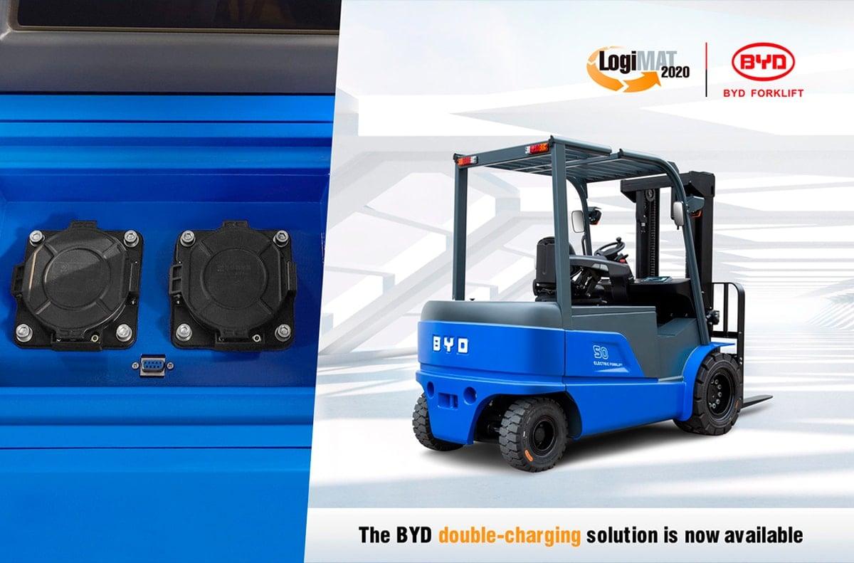 carretillas elevadoras BYD doble carga
